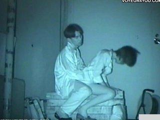 infrared camera voyeur bench park sex
